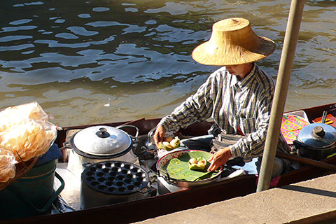 Floating Market, Khlong, Thailand