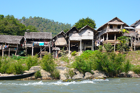 Long-Neck-Village Huay Pu Keng, Thailand