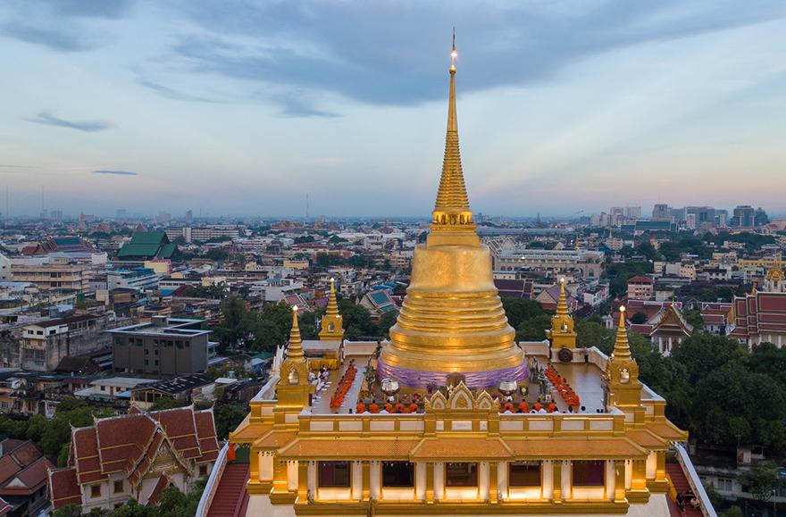 Tempel Aussicht Projekt