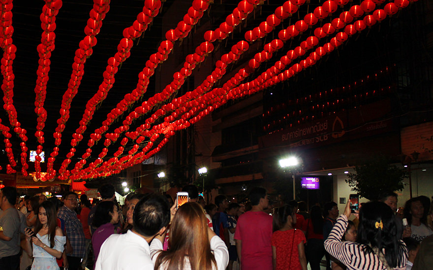 Chinese New Year, Chinatown, Bangkok