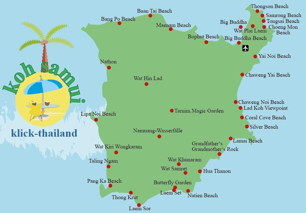 Strände auf Koh Samui – Infos & Tipps für alle 22 Inselstrände