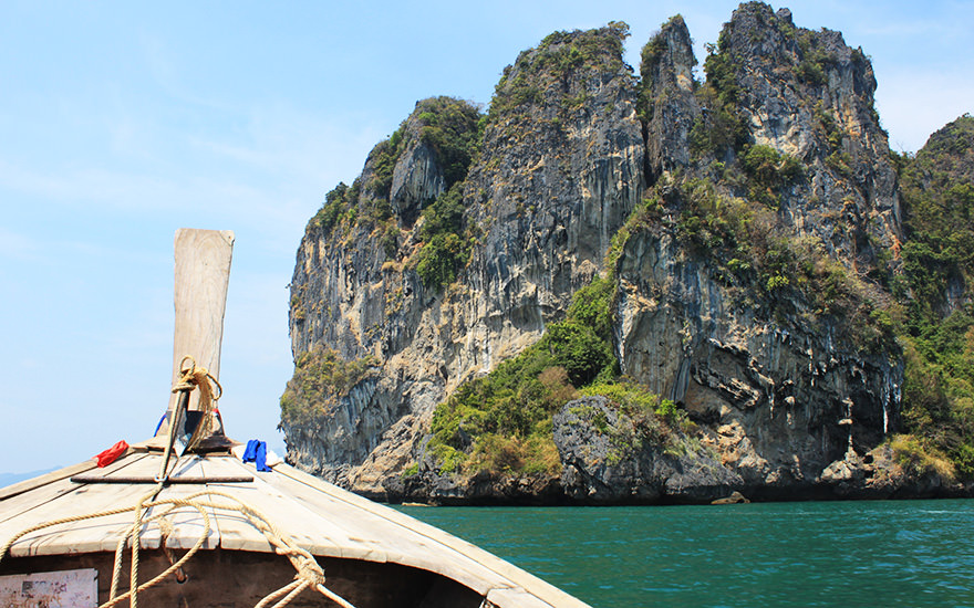 Longtailboot-Tour Railay