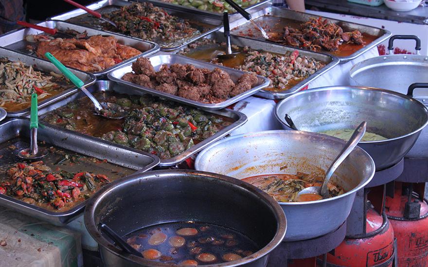 Thai Kuche Zutaten Gerichte Essgewohnheiten
